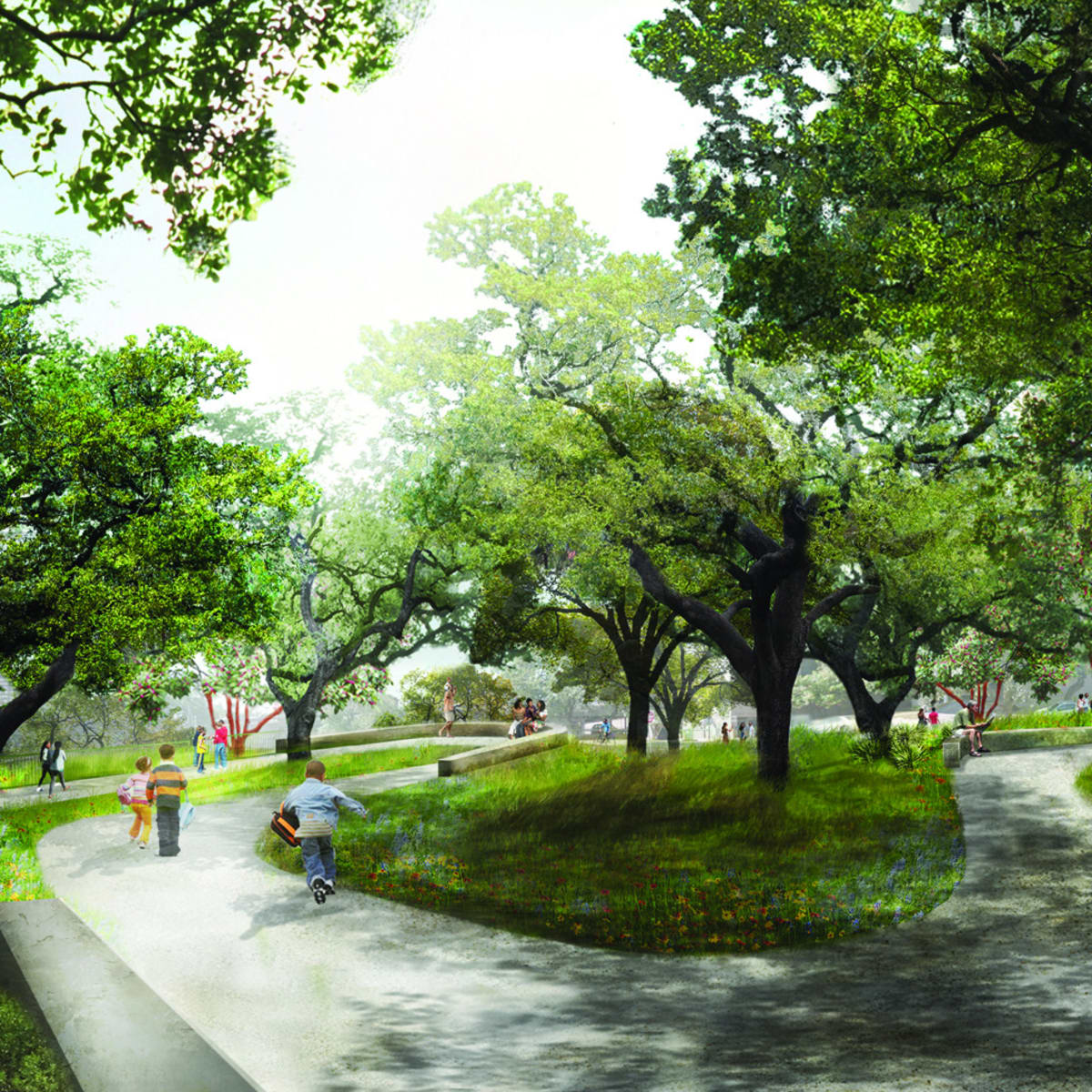 Waller Creek Plans Hill Country Garden