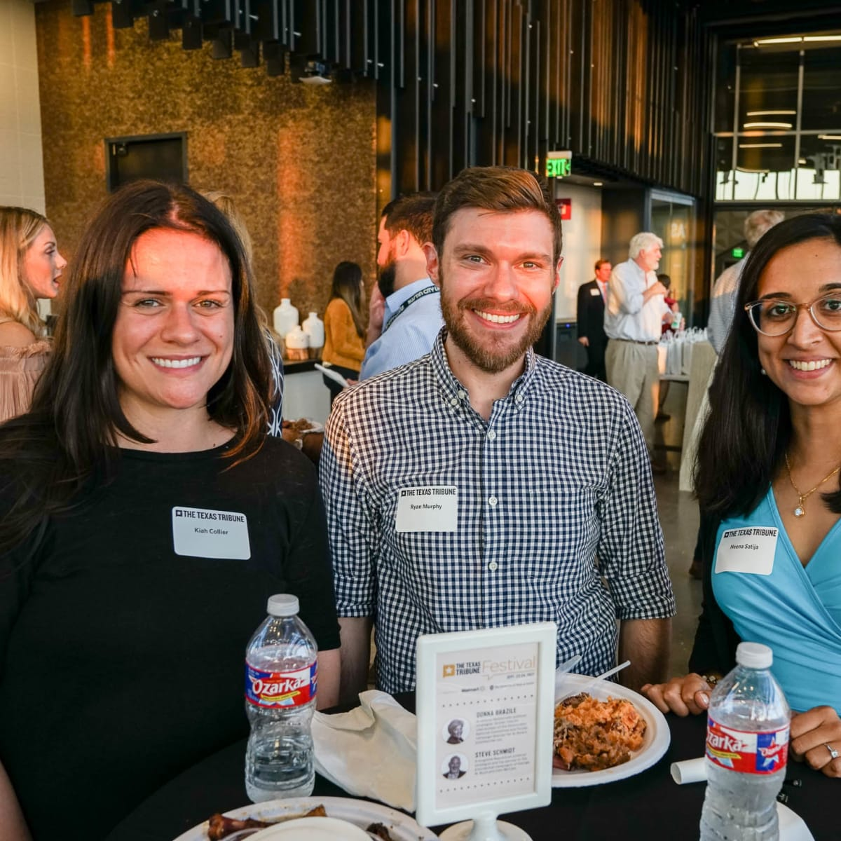 Texas Tribune Festival 2017 BBQ Feast at Google Kiah Collier Ryan Murphy Neena Satija