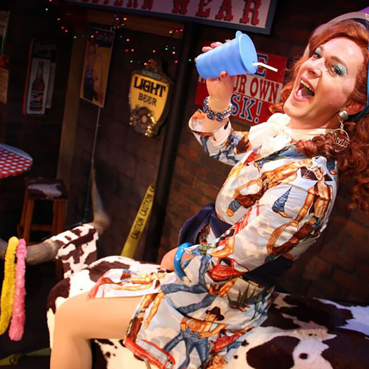 Performing Arts Fort Worth presents Dixie's Never Wear a Tube Top While Riding a Mechanical Bull