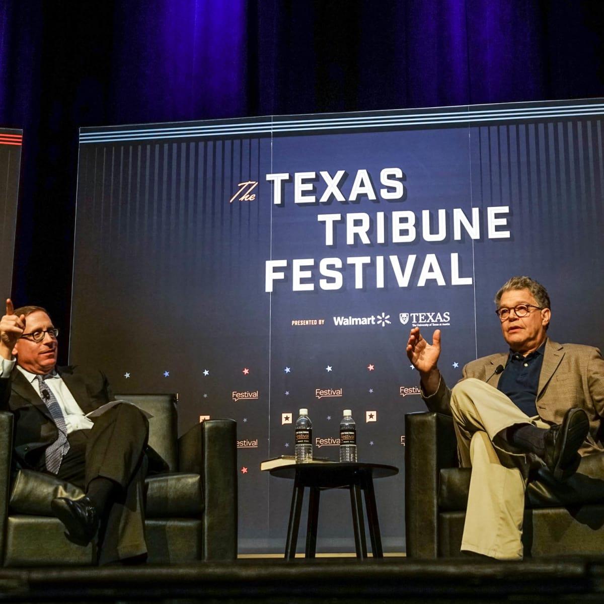 Texas Tribune Festival 2017 Opening Keynote Evan Smith Al Franken