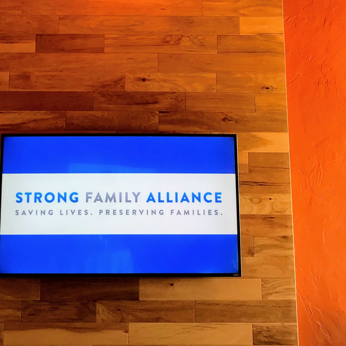 Strong Family Alliance launch event