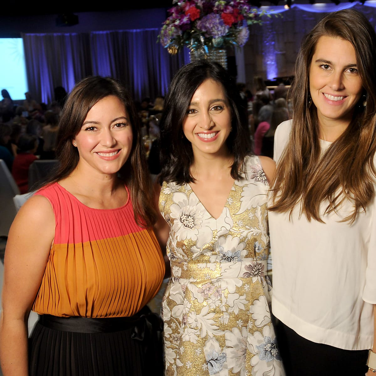 Memorial Hermann Razzle Dazzle luncheon, Jayne Johnston, Holly Radom, Kathryn Swain