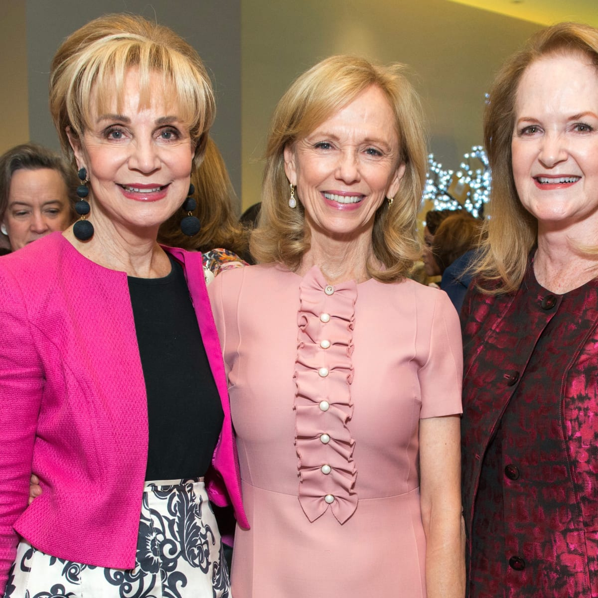 Memorial Hermann Razzle Dazzle luncheon, Leisa Holland-Nelson, Susan Sarofim, Sandy Barrett