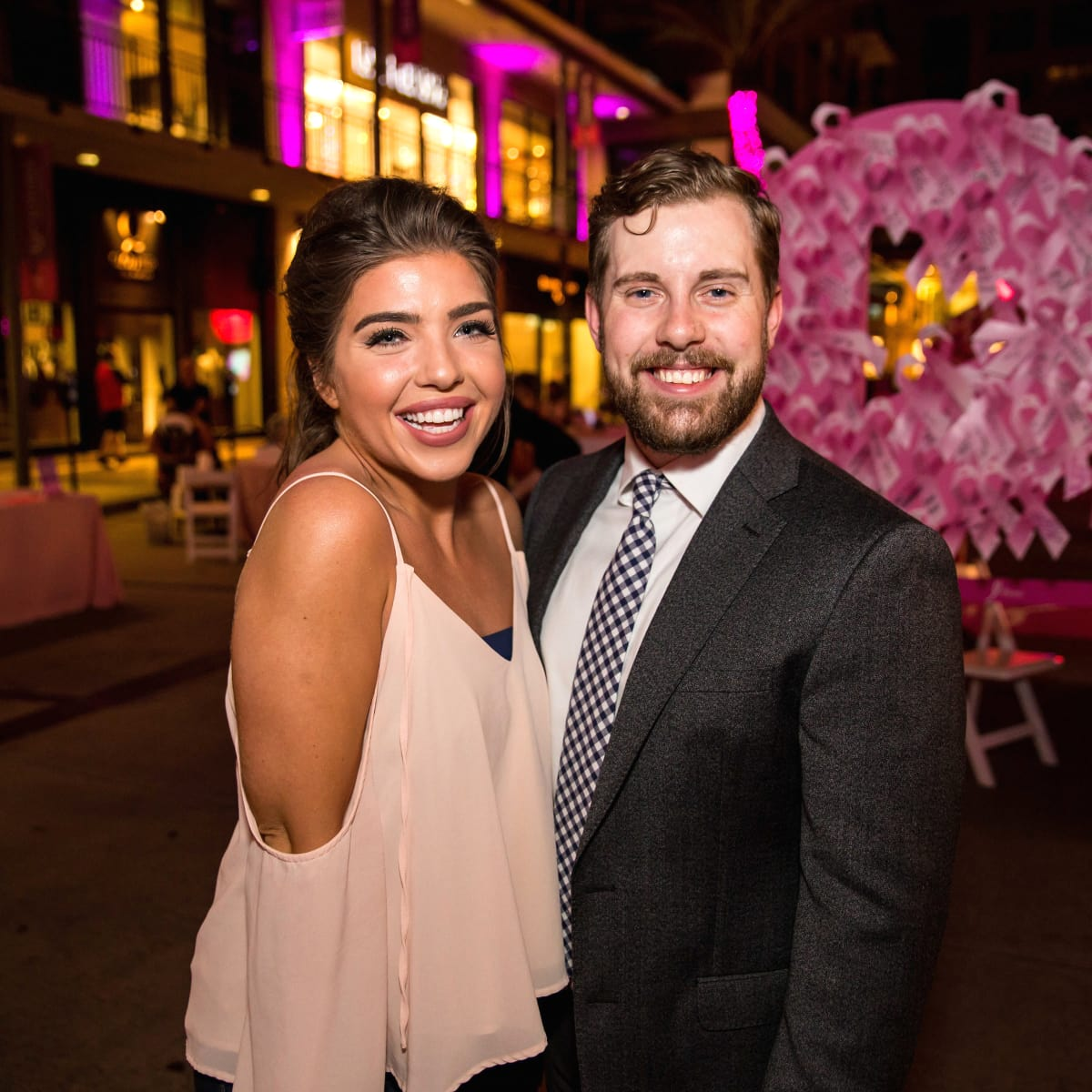 Houston, Marcy, West Ave Pink Party, October 2017, Madison Payne, Chance Vaughn