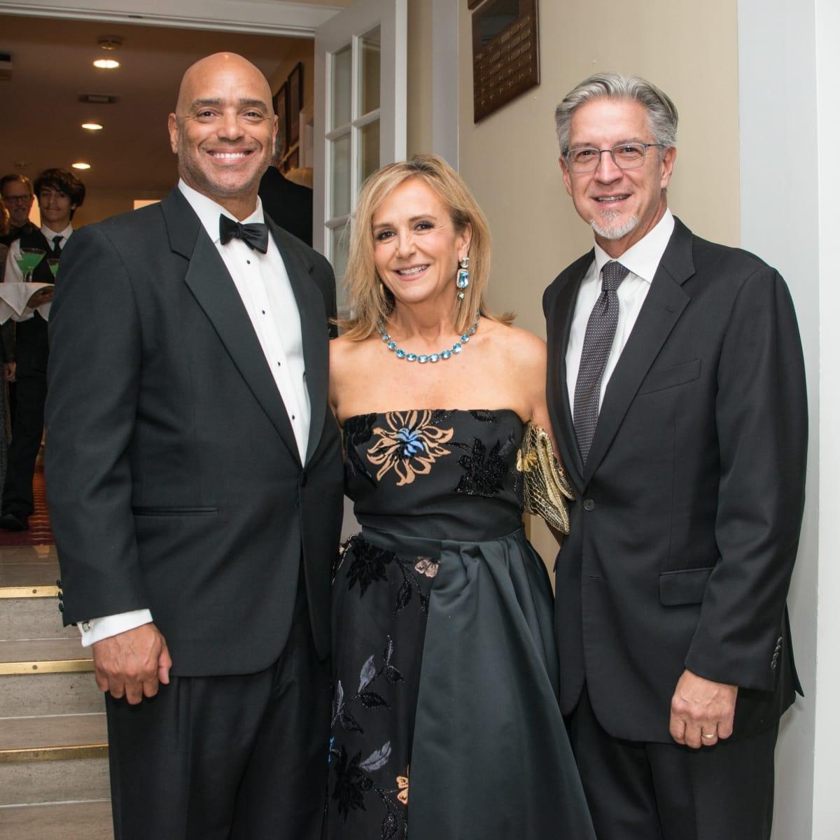 Charles Ellis, Jane McGarry, Michael Cain, Jade ball 2017