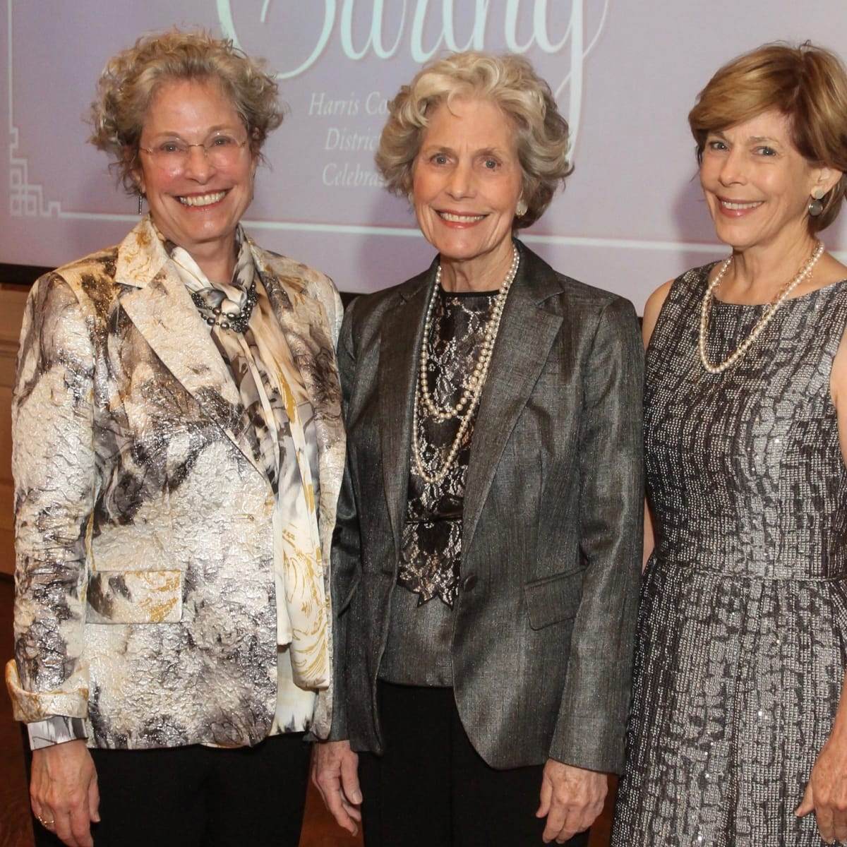 Lillie Robertson, Beth Robertson and Carroll Ray at Jubilee of Caring