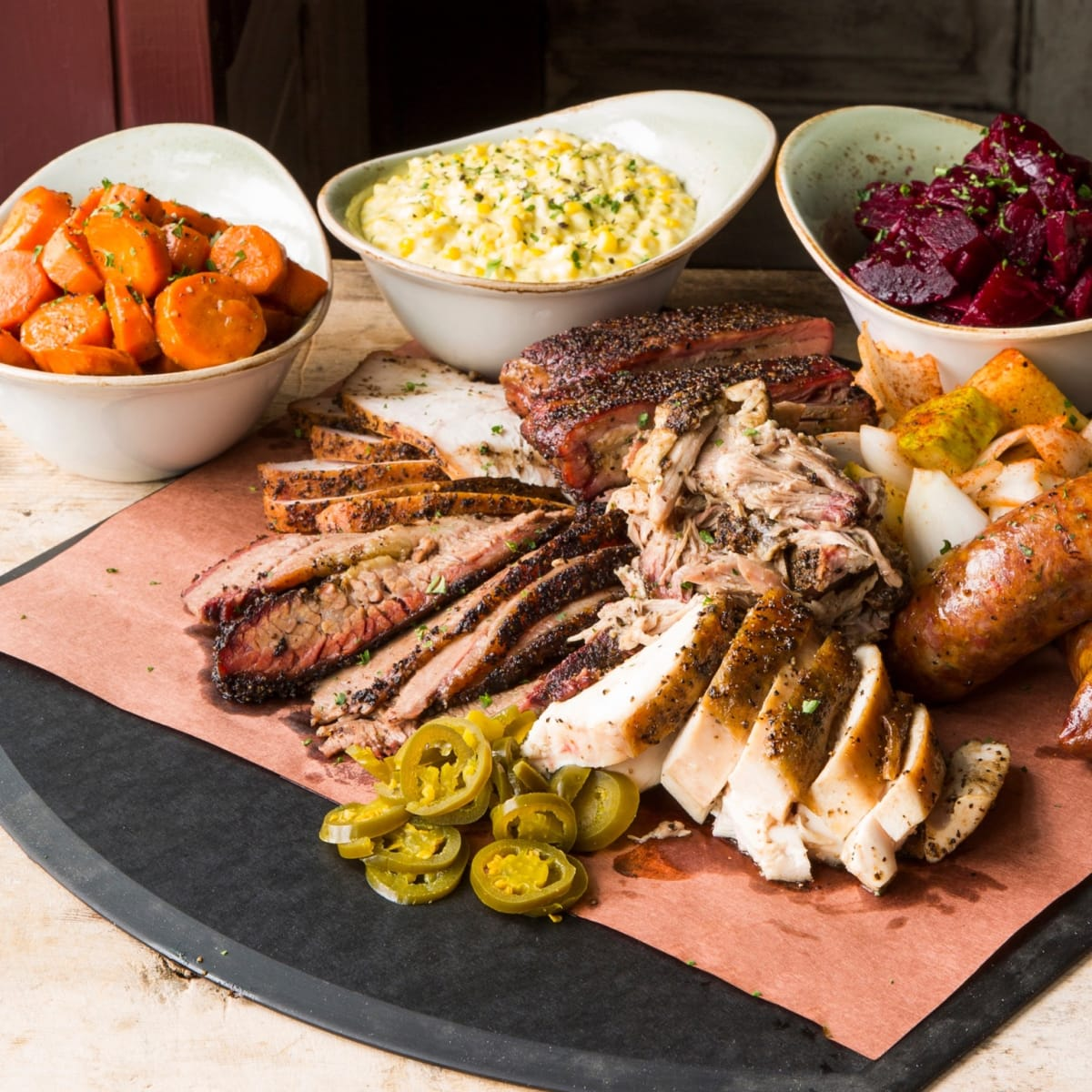Pappas Delta Blues Smokehouse family feast