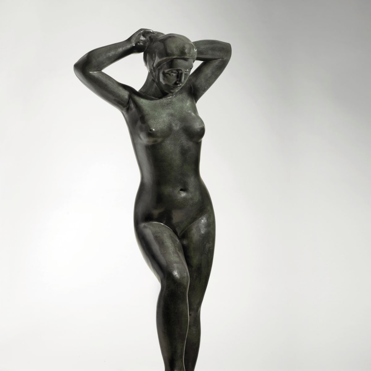 Maillol_Bather with raised arms, Bass art