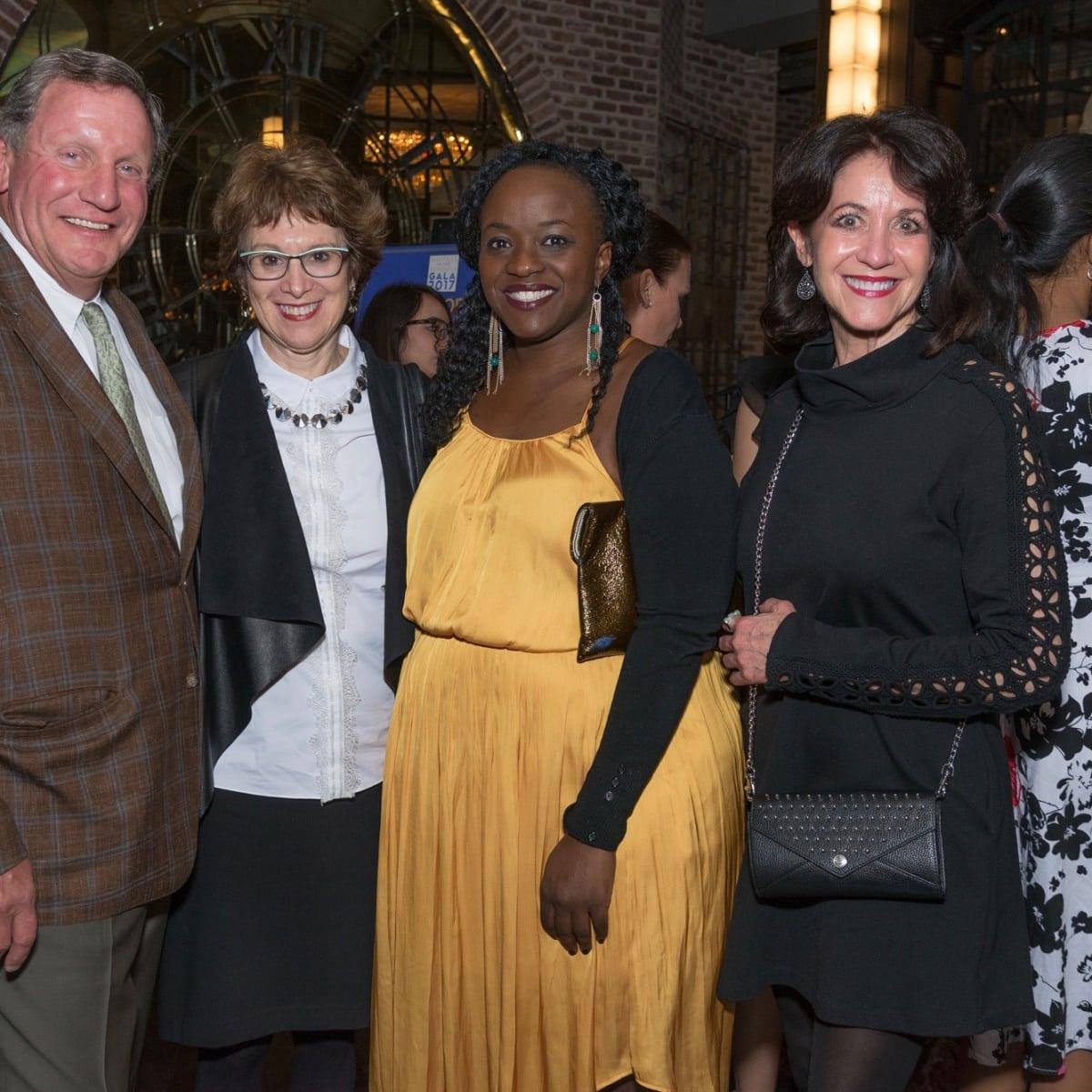 WITS gala 2017: Mike Nichols, Judith Kurnick, Carliss Chatman, Deedee Dochen