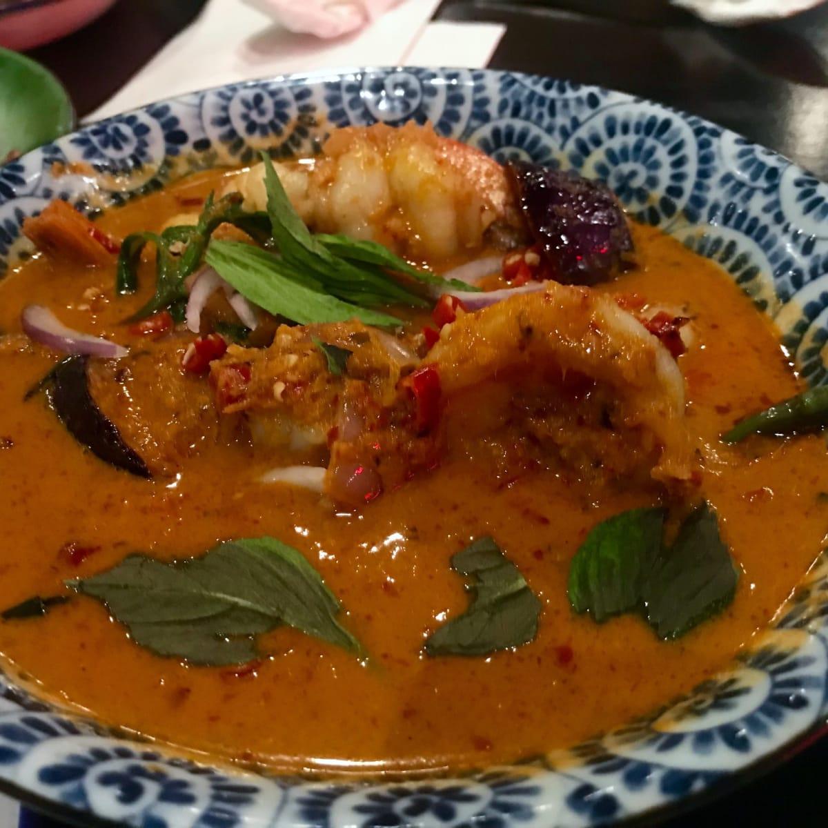 Night Market spicy shrimp curry