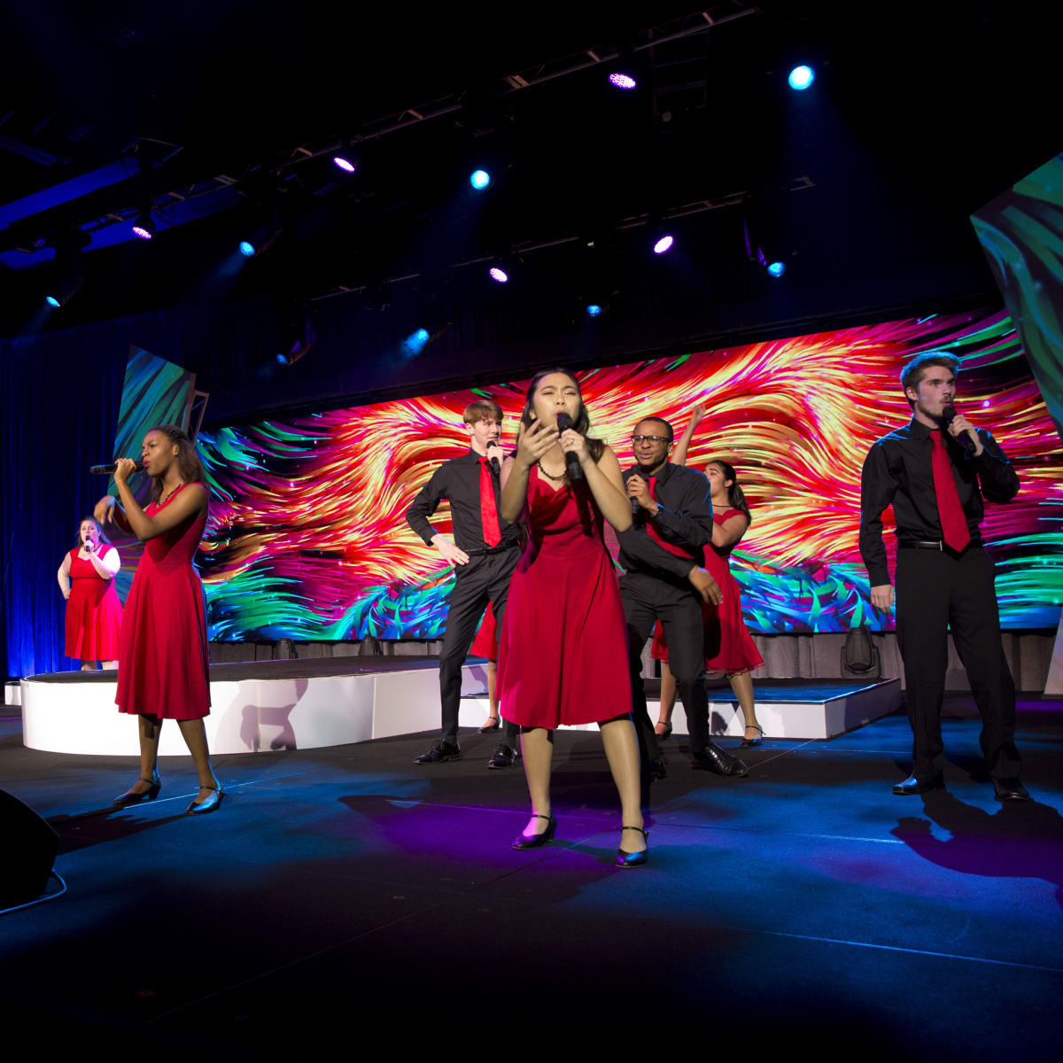 Houston, Methodist Hospital Rendezvous Live Young Gala, November 2017, HSPVA Glee Club