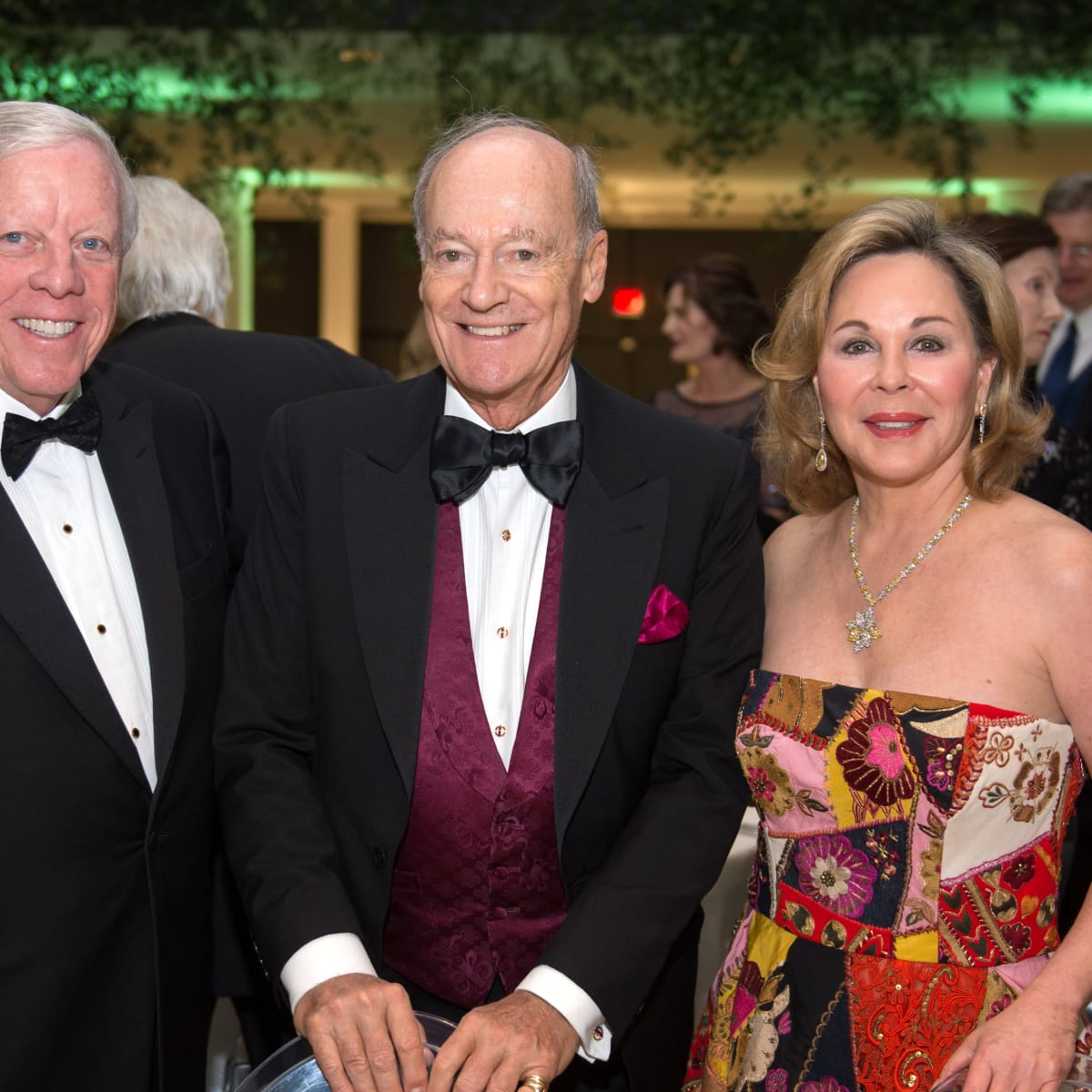 Houston, MFAH Art of the Islamic Worlds Gala, November 2017, Rich Kinder, Prince Amyn, Nancy Kinder