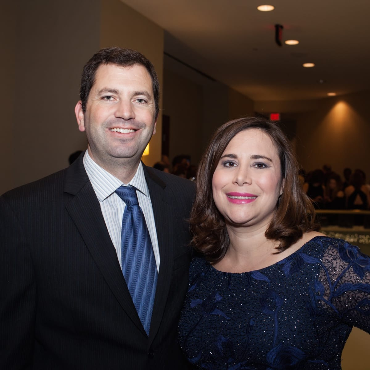 Mike and Jennifer Larsen, Elijah Rising auction co-chairs