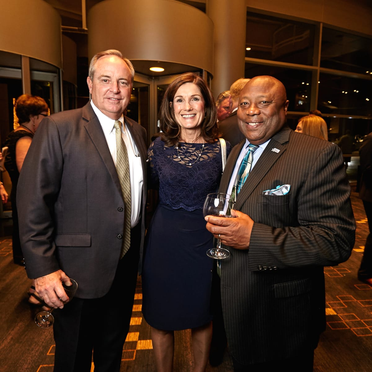 Houston, Bush Library Foundation dinner, November 2017, Betty Welsh, Mark Welsh, Frank Ashley