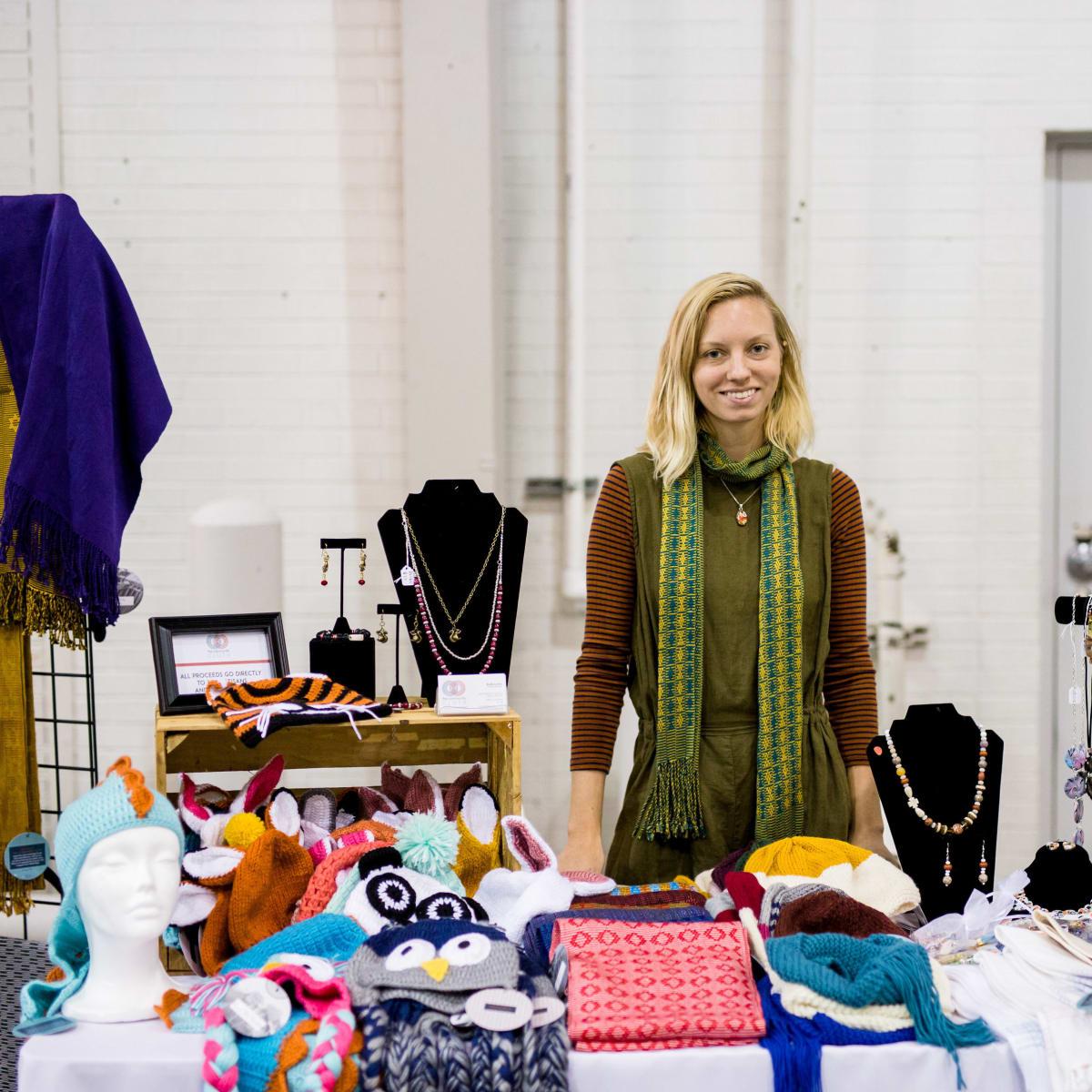 Houston, CultureMap Holiday Pop-Up Shop, November 2017, The Community Cloth, Kaila Lewis