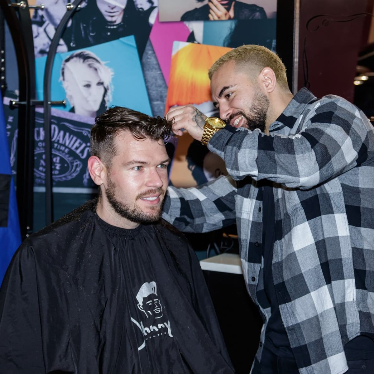 Barber shop, CultureMap Dallas Holiday Pop-up 2017