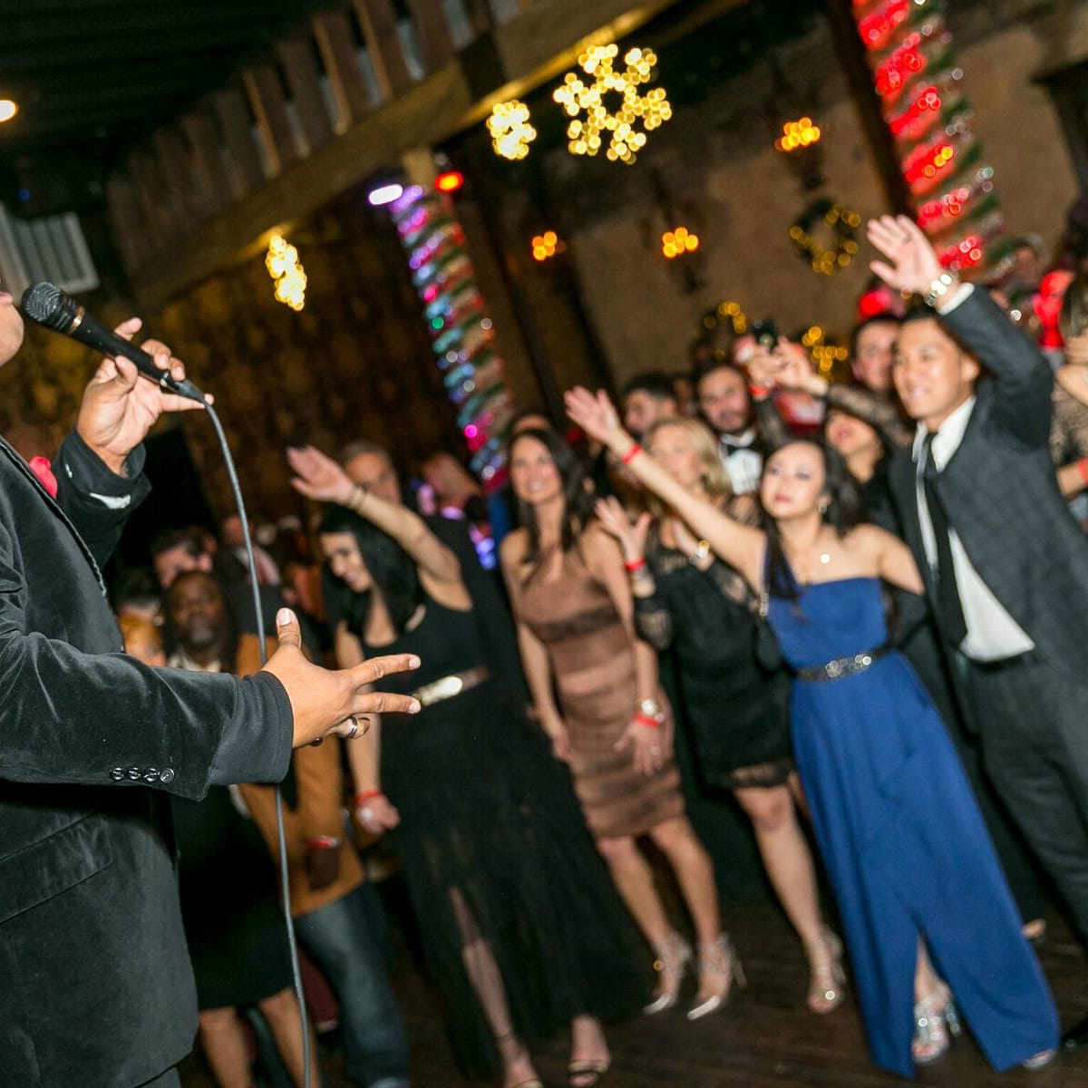 Holiday Soiree - singer