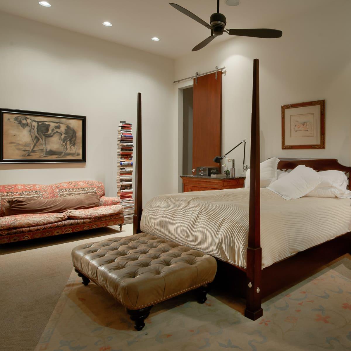 2278 Monitor Street, Dallas Design District warehouse, bedroom