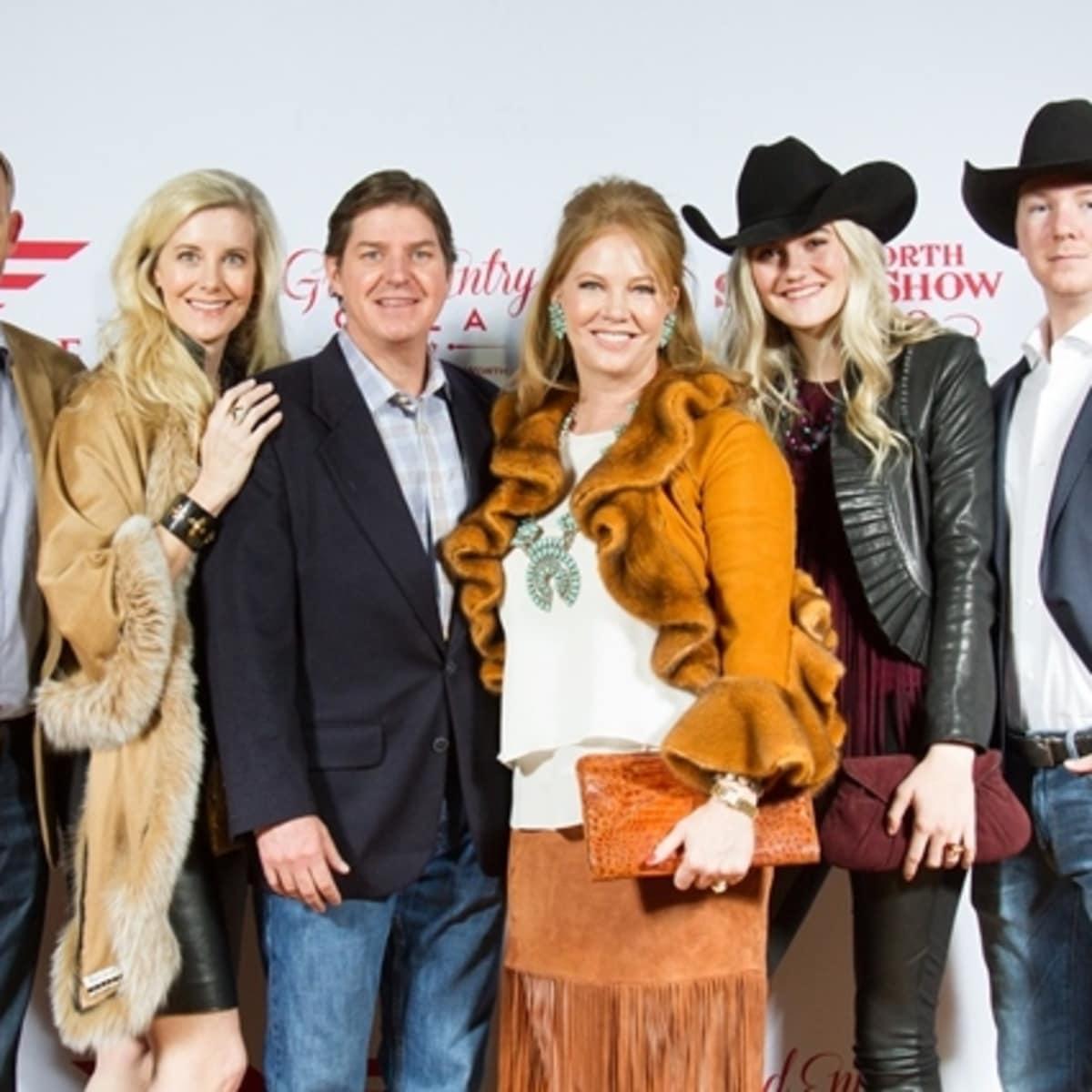 Fort Worth, JLH Grand Entry Gala, January 2018, Colin Bailey, Sonia Bailey, Philip Williamson, Jennifer Williamson, Talia Bailey, Philip Williamson, Jr.