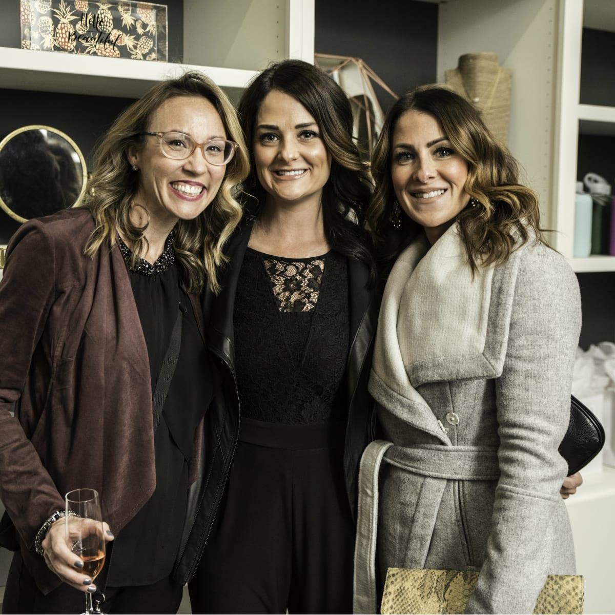 Amanda Mercer, Erin Coronado, Brandi Guion