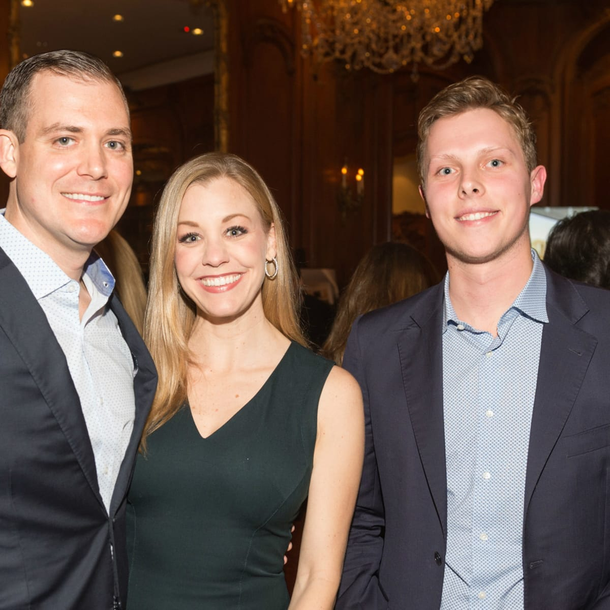 Chris and Meredith Rector and Gerrit Van Someren