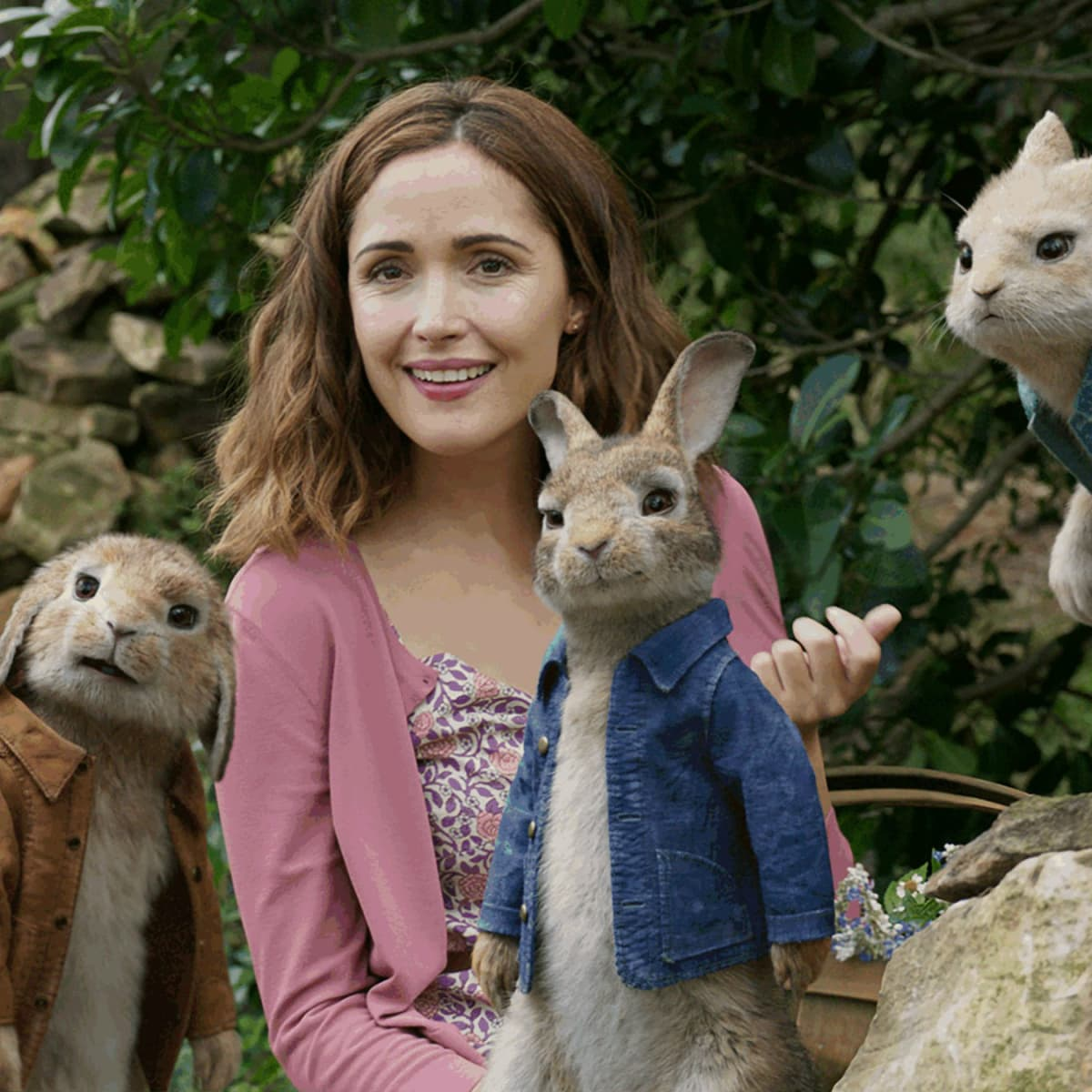Rose Byrne in Peter Rabbit