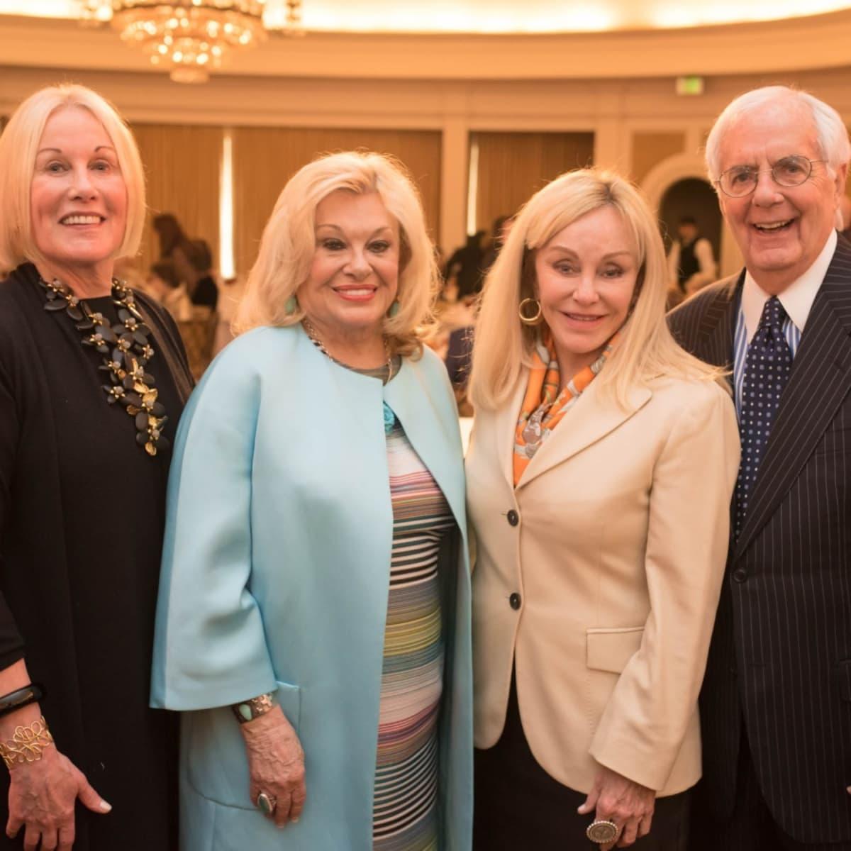 Houston, TCH Celebration of Champions, February 2018, Elsie Eckert, Sidney Faust, Judi McGee, Scott Basinger