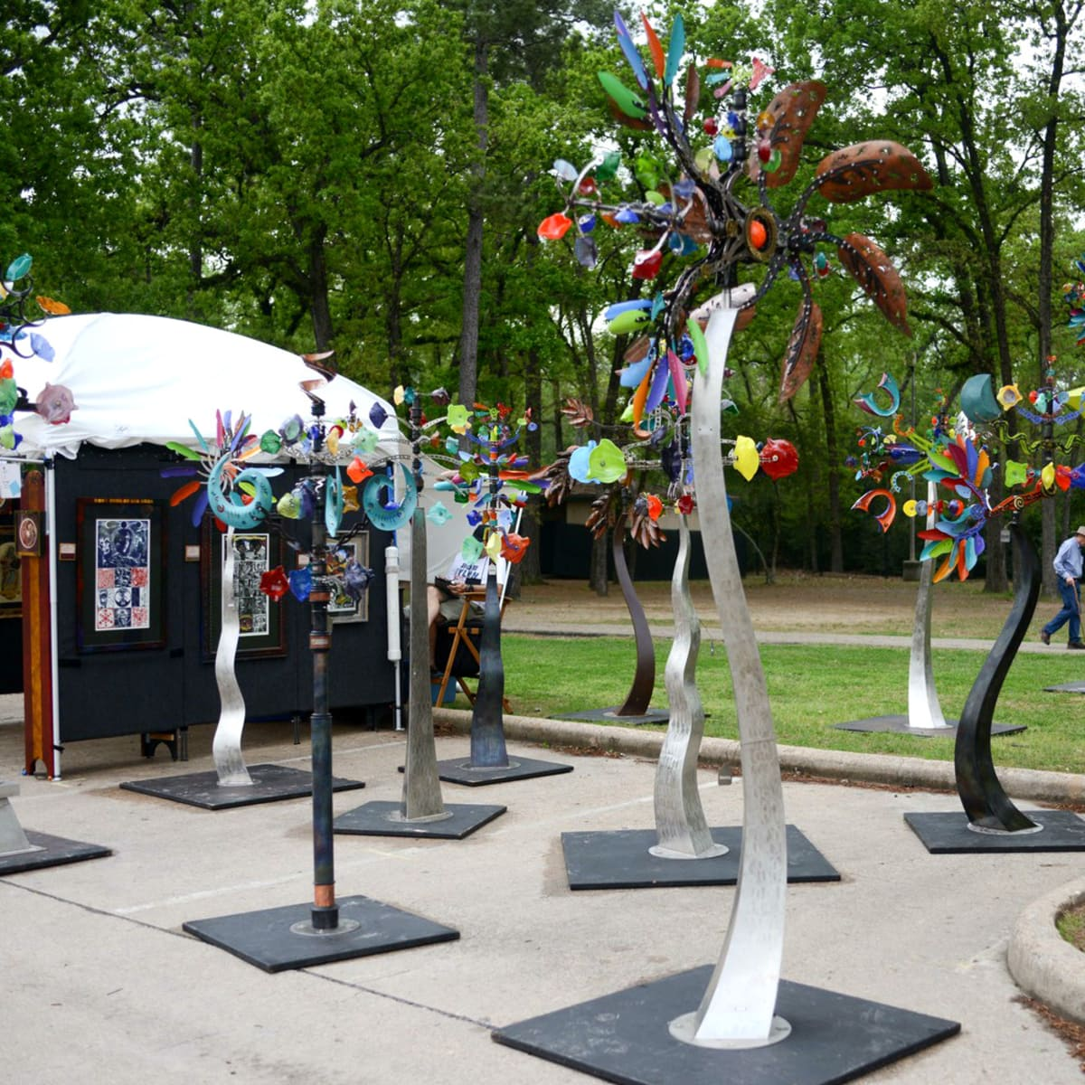 Weekend events Bayou City Arts Festival