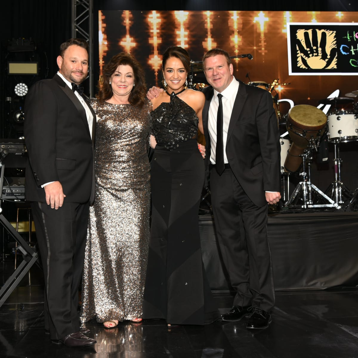 Tommy Kuranoff, Laura Ward, Maria Moncada Alaoui, and Tilman Fertitta