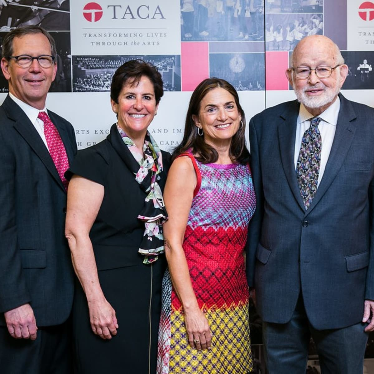 TACA silver cup luncheon 2018, Wolford McCue, Melinda Johnson, Julie Hersh, Don Stone, Michelle Thomas