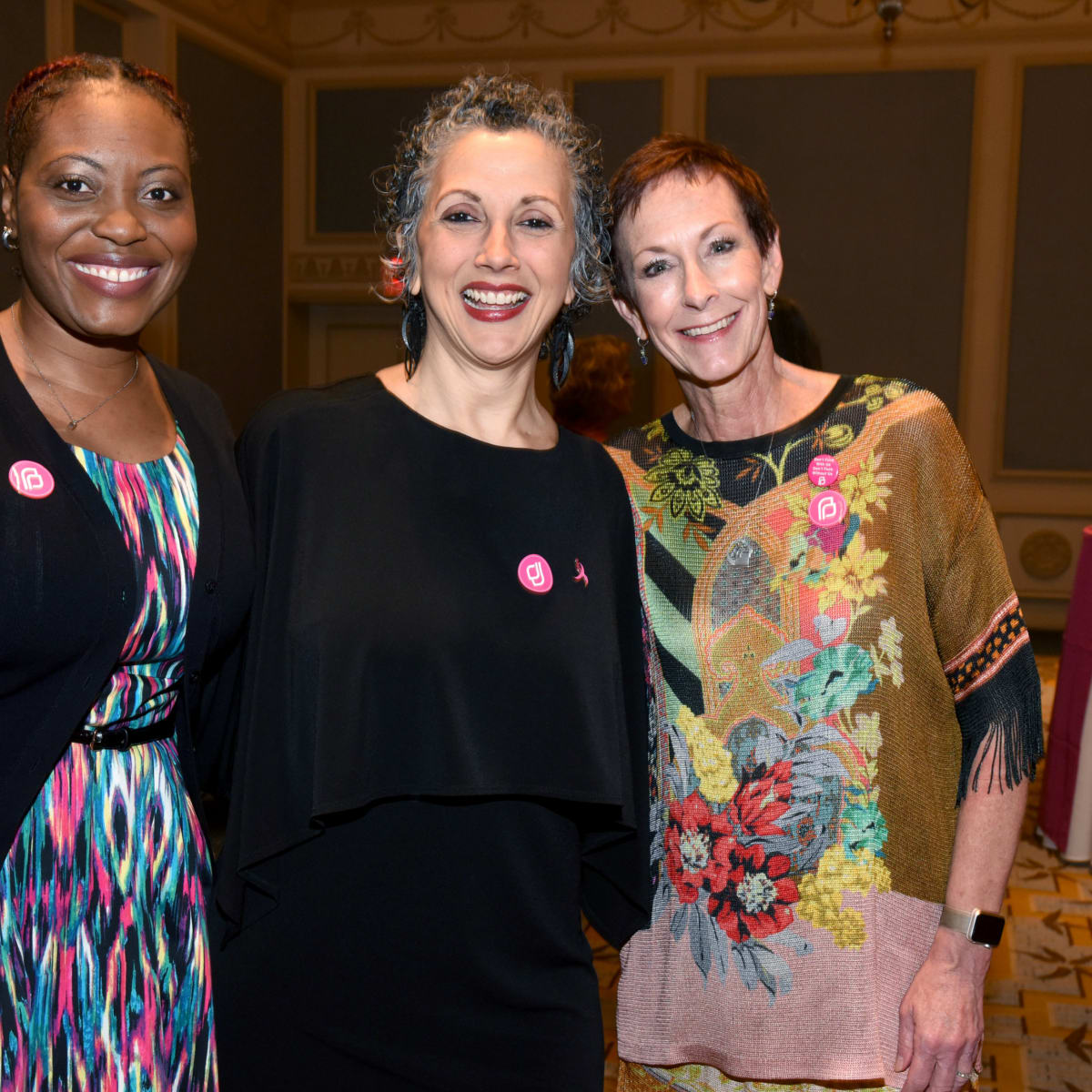 Shanterra McBride, Dayna Farris-Fischer, Jill Cochran