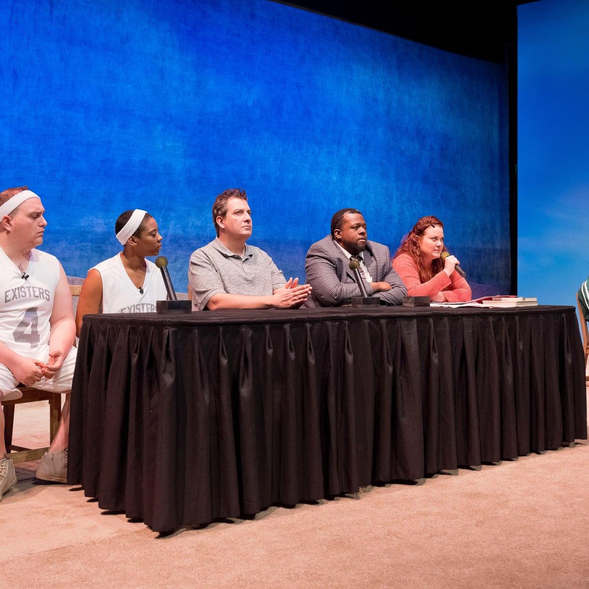 Catastrophic Theatre-Small Ball, cast