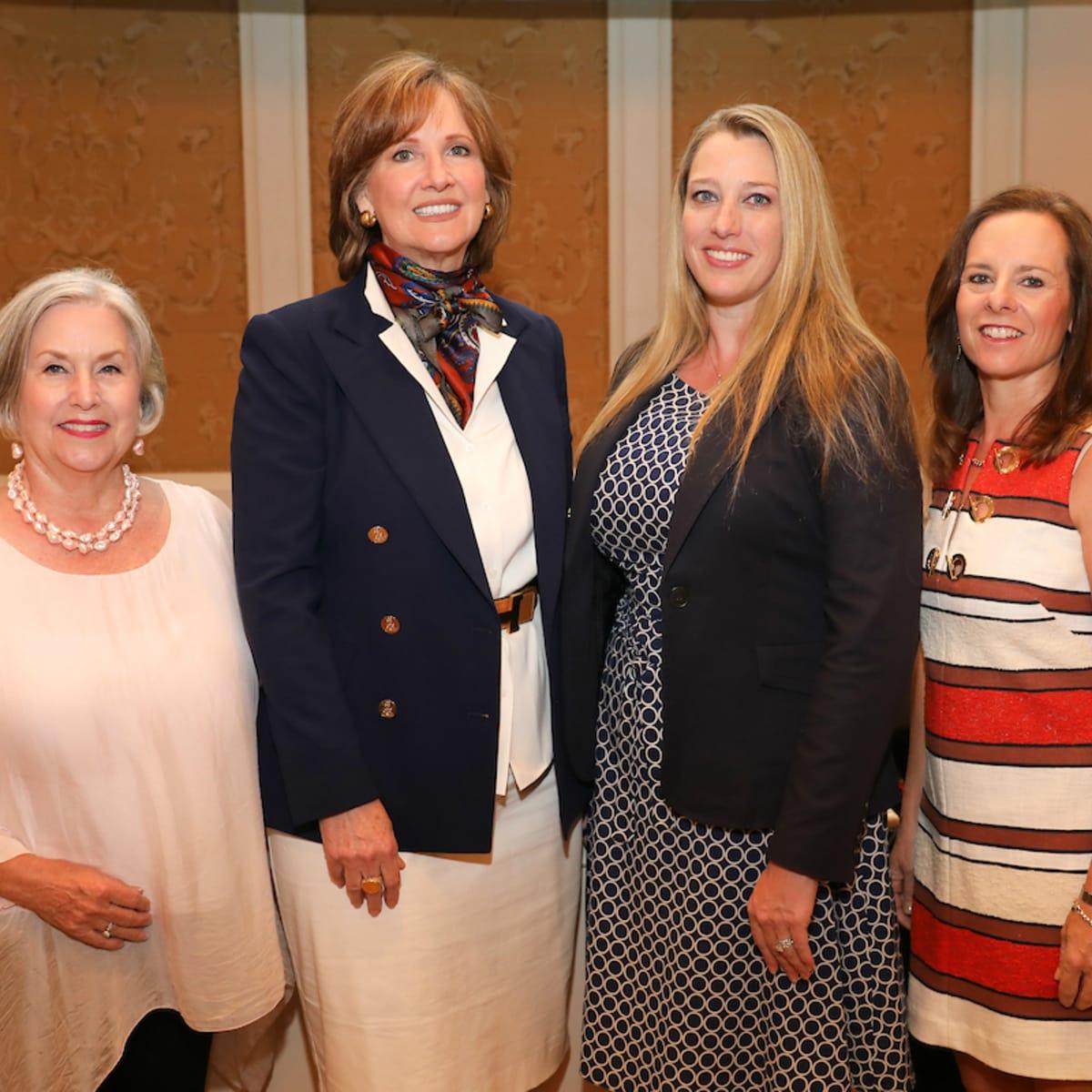 Judy Jackson, Dean Lorraine Frazier, Stacie Fernandez, and Charis Cox
