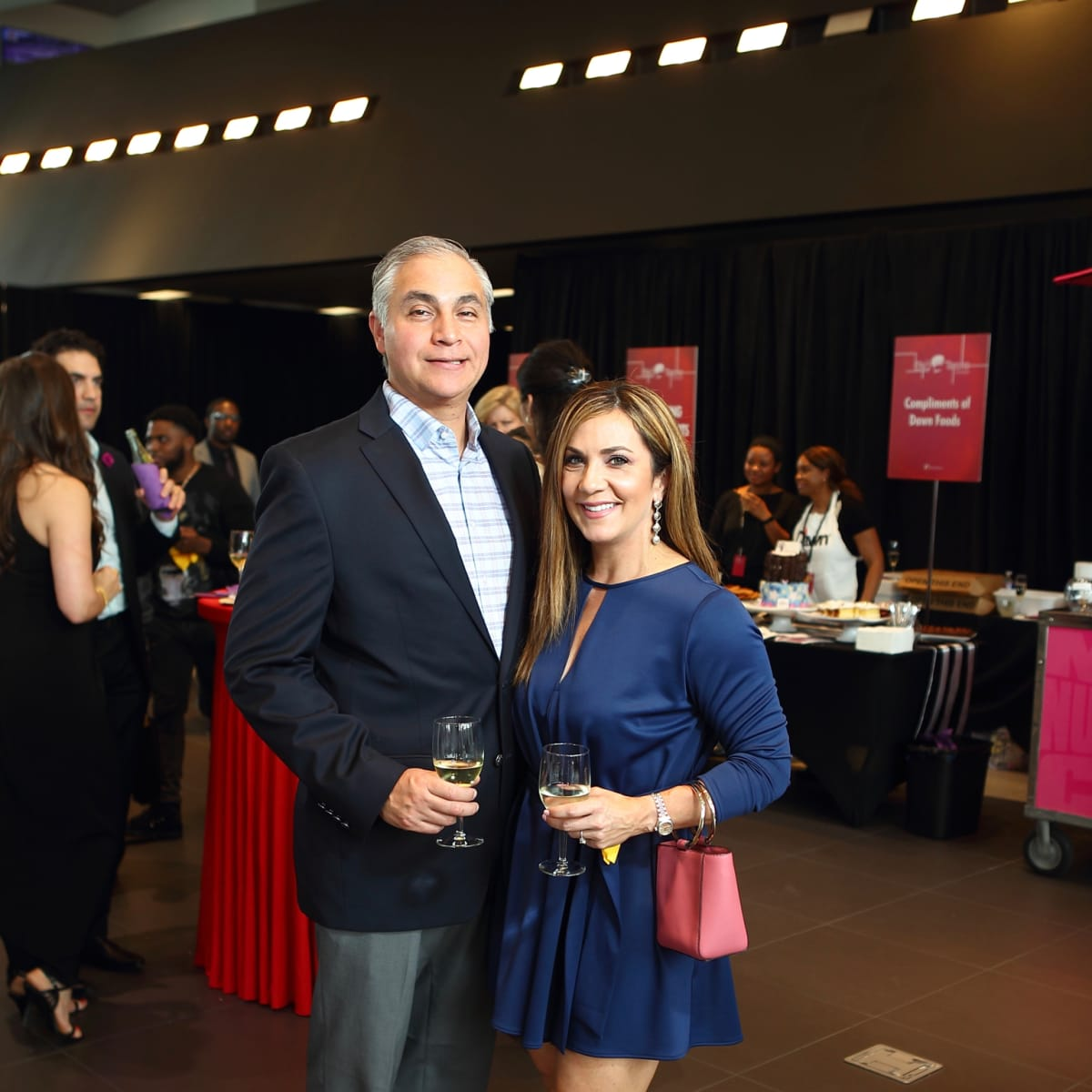 Big Brothers Big Sisters Big Taste 2018 Orlando Romero Courtney Zavala