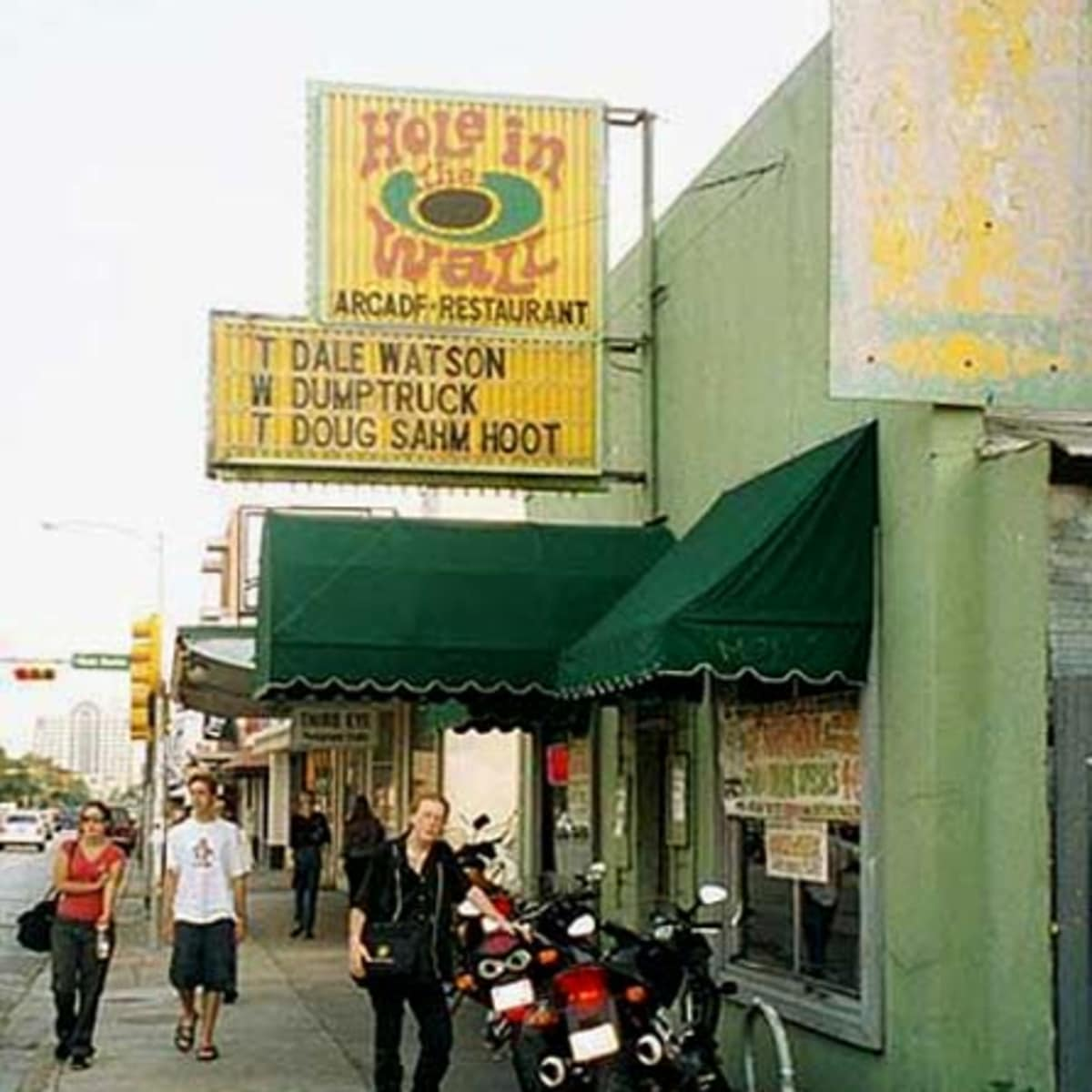 Austin Photo: Places_Live Music_Hole in the Wall_Exterior