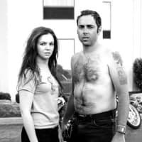 Amber Tamblyn and Derrick Brown