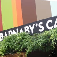 Places-Food-Baby Barnaby's Cafe exterior sign day
