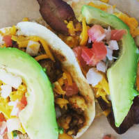 Taco Heads breakfast taco