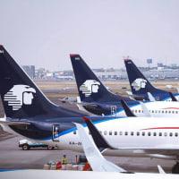 Aeromexico flight planes airport