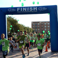 The 5th Annual Color Me Green Race benefiting TeamConnor Childhood Cancer Foundation