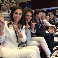 Houston Texans season opener, 9/26 Hannah McNair, Joanna Marks, Brad Marks