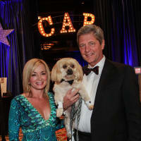 Wezy and Bobby  Dees at the Citizens for Animal Protection Gala November 2013