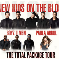 New Kids on the Block concert with Paula Abdul and Boyz II Men