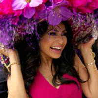 Married to Medicine Houston Monica Patel Kentucky Derby hat