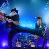 ZZ Top and Jeff Beck in concert