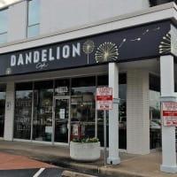 Dandelion Cafe Bellaire coffee shop exterior