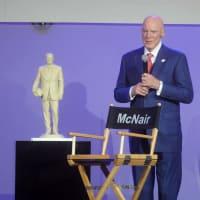 Bob McNair at Luminaries Super Bowl Gala