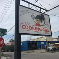 Cooking Girl sign