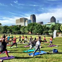 Yoga in Griggs Park