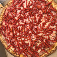 Gold Buckle Flamin Hot Cheetos pizza